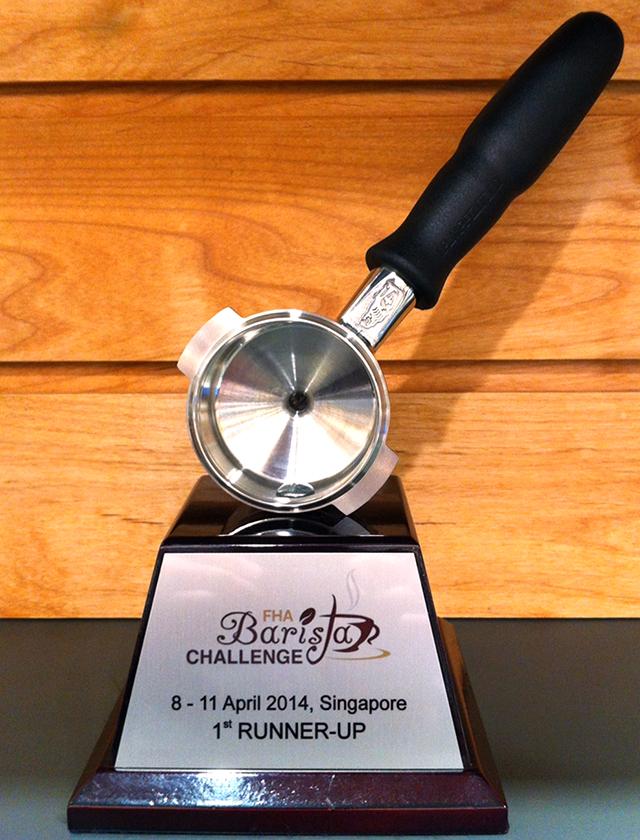 アジアバリスタチャンピオンシップ準優勝